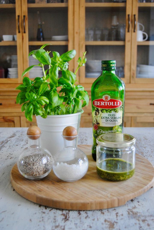 Pesto de basilic auxamandes