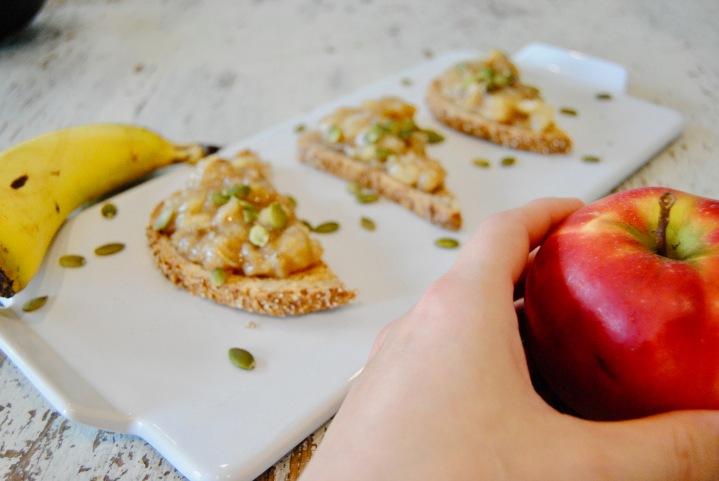 Compote de pommes et bananes sanssucre