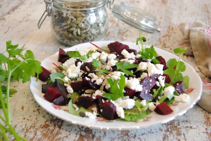 Salade de betterave etfeta
