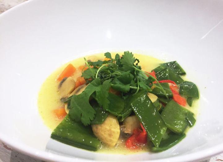 Soupe thaï aucurry