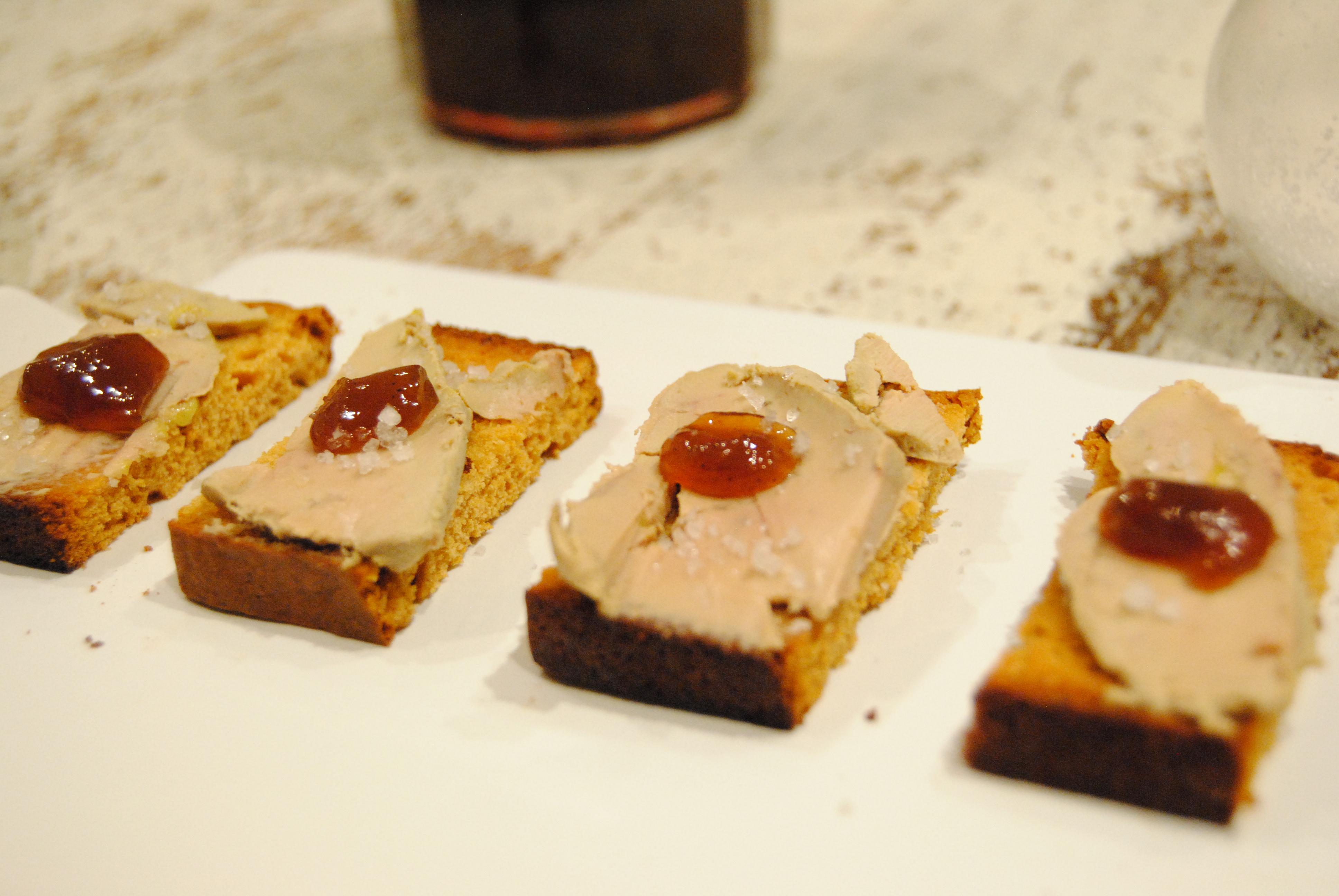 Zak de no l 1 toast de foie gras revisit happy fridge - Quantite foie gras par personne ...