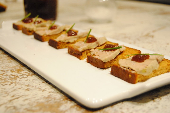 Zak de Noël #1: Toast de foie grasrevisité