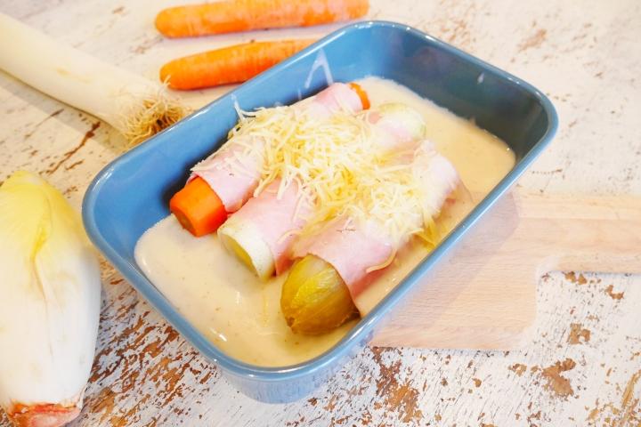 Chicons au gratin, légumes au gratin: une recette pourtous!