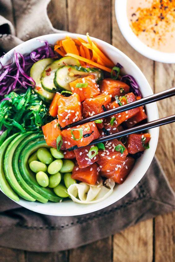 Açai bowl, poke bowl, buddha bowl, c'est quoi et pourquoi c'est si cool?