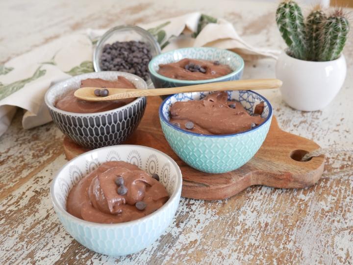 Mousse au chocolat rapide ethealthy