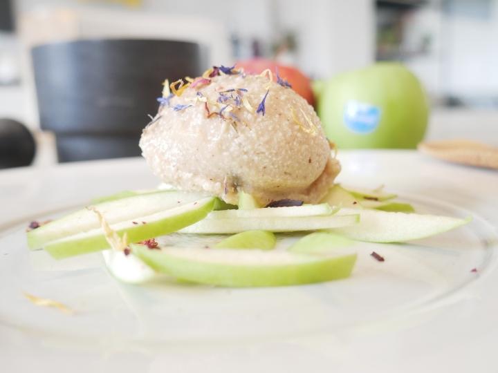 Glace coco – pomme auxépices